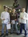 Nagrody w Starostwie - ozdoby świąteczne